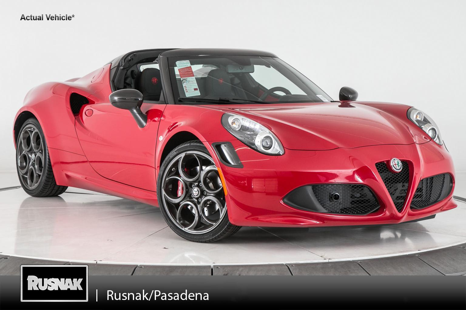 New Alfa Romeo C Spider Convertible In Pasadena - Alfa romeo spider new model