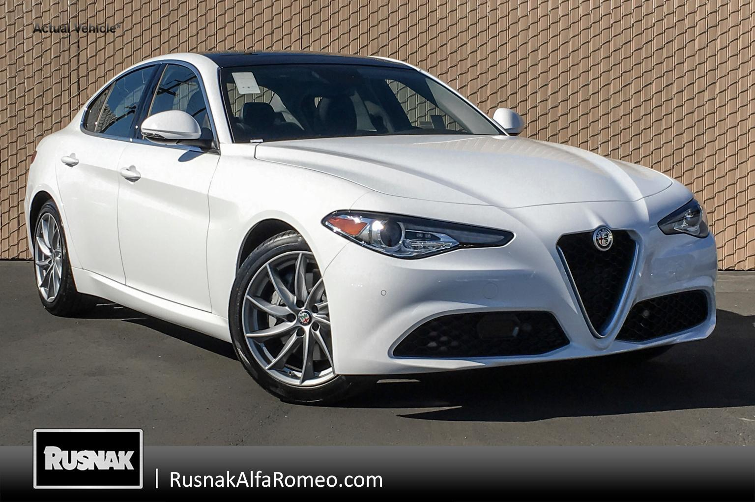 New 2019 Alfa Romeo Giulia Rwd Sedan In Pasadena 1019004 Rusnak